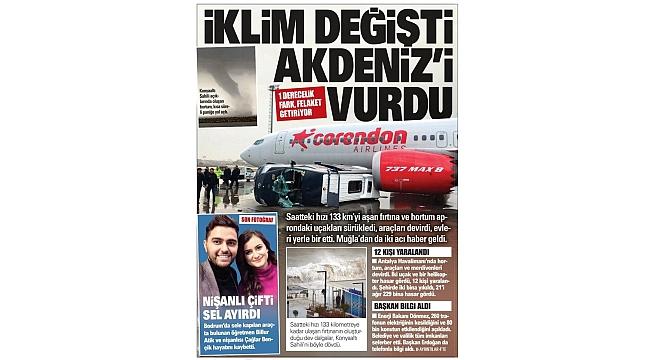 Günün gazete manşetleri - 27 Ocak 2019