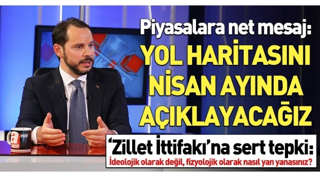 Hazine ve Maliye Bakanı Berat Albayrak'tan A Haber ve A Para'da kritik açıklamalar..