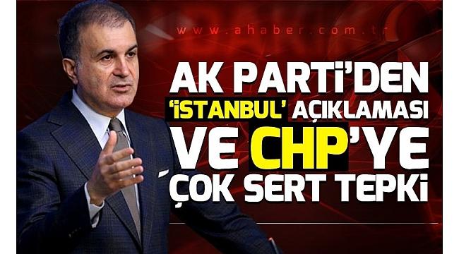 SON DAKİKA: AK Parti'den İstanbul'daki sonuçlara itirazlar hakkında flaş açıklama..