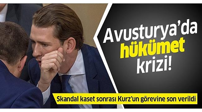 Avusturya'da hükümet düştü!.