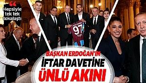 Başkan Erdoğan sanatçı ve sporcularla iftarda bir araya geldi.