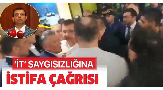 Ekrem İmamoğlu'nun 'it' saygısızlığına istifa çağrısı..