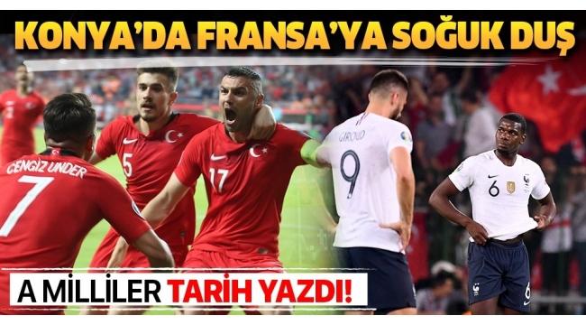 Son dakika Türkiye tarih yazdı, dünya şampiyonuFransa'yı devirdi.