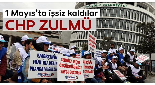 Bolu Belediyesi'nin işten attığı işçilerin ekmek kavgası.