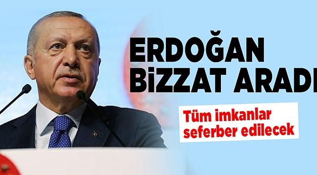 Cumhurbaşkanı Erdoğan: Yaraların sarılması için tüm imkanlar seferber edilecek.