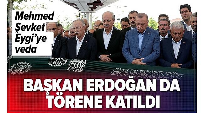 Mehmet Şevket Eygi'ye son görev,