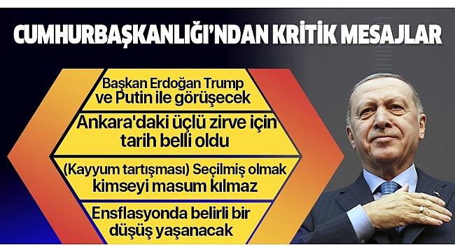 Son dakika haberi:Ankara'da kritik zirve! Tarih belli oldu.