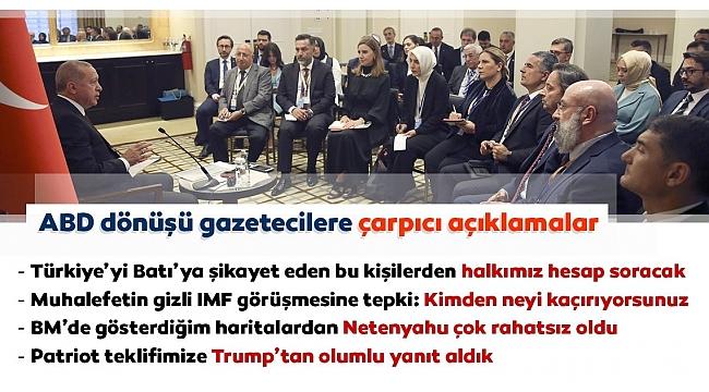 Başkan Erdoğan'dan IMF ile görüşen CHP ve İP'e sert tepki!...