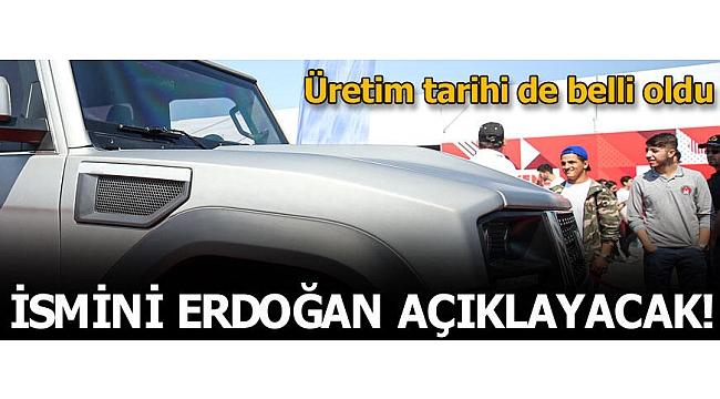 Yeni yerli araç geliyor! İsmini Başkan Erdoğan açıklayacak.