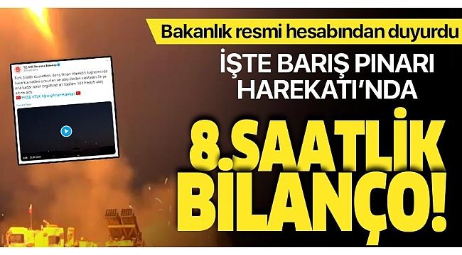 Mehmetçik Fırat'ın doğusuna girdi! 181 hedef vuruldu.