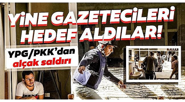 Son Dakika Haberi: Terör örgütü YPG/PKK yine gazetecileri hedef aldı! Koordinatları verdiler....