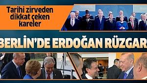 Berlin'deki kritik zirvede Başkan Erdoğan rüzgarı.