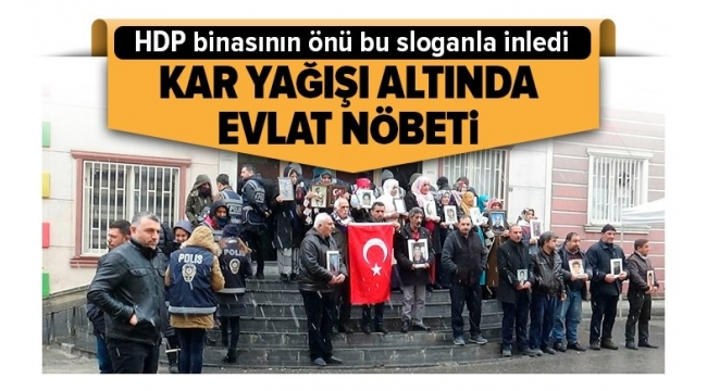 Diyarbakır Anneler.i HDP binasını inletti: Kahrolsun PKK