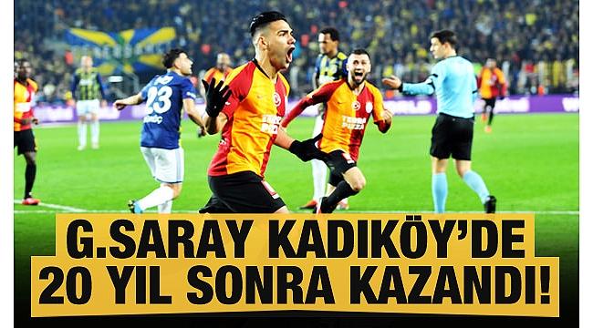 Fenerbahçe1 - 3Galatasaray(MAÇ SONUCU).