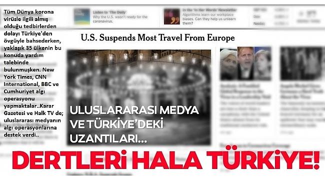 Batı medyasının Türkiye üzerinden algı operasyonu sürüyor! Şimdi de İsrail diyemeyip, Erdoğan'ı hedef gösterdiler..