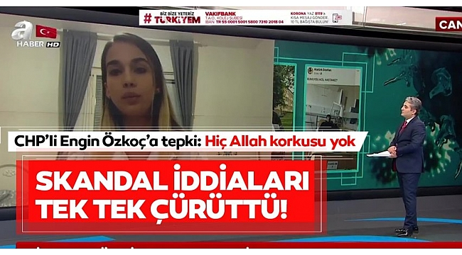 Leyla Gülüşken A Haber canlı yayınında skandal iddiaları tek tek çürüttü: Hepsi yalan ve iftira