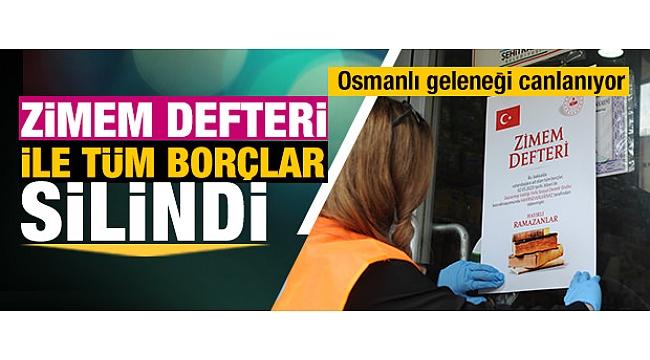 Anadolu'dan Mesaj Haberleri - Zimem defteri geleneği geri geldi, tüm borçlar silindi.