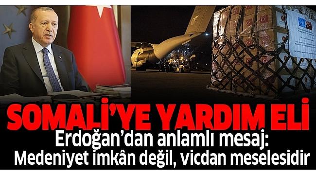Başkan Erdoğan'dan flaş paylaşım: Medeniyet imkan değil, vicdan meselesidir.