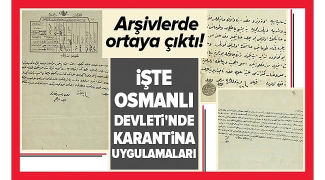 Anadolu'dan Mesaj Haberleri - Osmanlı'da karantina: Salgınlarda Kabe örtüsünden, mukaddes hediyelere kadar karantina uygulanmış.