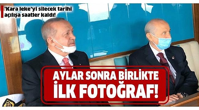 Son dakika: Başkan Erdoğan ve Devlet Bahçeli'den aylar sonra ilk kare! Demokrasi ve Özgürlükler Adası açılıyor.