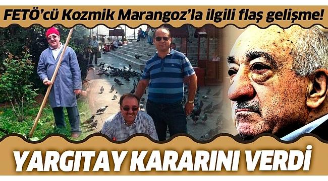 Kozmik Marangoz FETÖ'cü Dursun Çalışkan'a verilen ceza Yargıtay tarafından onandı.