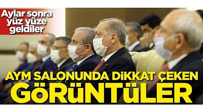 son dakika baskan erdogan aym nin yeni uyesi basri bagci nin yemin torenine katildi gundem www anadoludanmesaj com haber sitesi