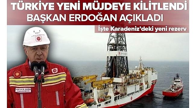 SON DAKİKA... Başkan Erdoğan Zonguldak'ta müjdeyi verdi: Doğal Gaz rezervimiz 405 milyar metreküp oldu..