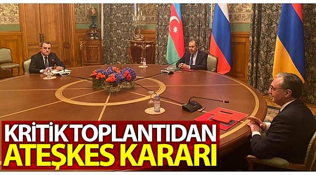 Son dakika:Dağlık Karabağ'daAzerbaycanveErmenistanarasındaateşkes.