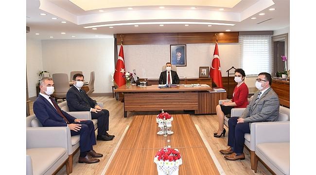24 Kasım Öğretmenler Günü vesilesiyle Vali Süleyman Elban'a Ziyaret