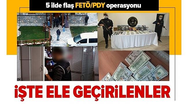 Son dakika: Antalya merkezli 5 ilde FETÖ-PDY operasyonu! Çok sayıda gözaltı var.