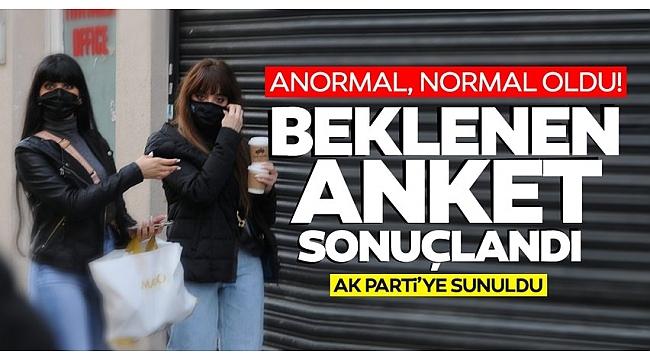 SON DAKİKA: Korona anketi AK Parti'ye sunuldu! Mutasyonla ilgili kritik uyarı