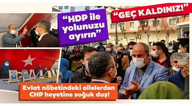 Diyarbakır Anneleri'nden CHP'li Özgür Özel ve Sezgin Tanrıkulu'na sert tepki