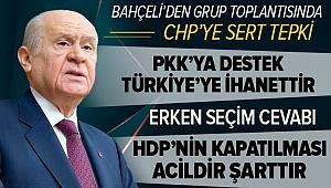 MHPlideriDevlet Bahçeli'denson dakikaaçıklaması: HDP'nin kapatılması acildir, şarttır!