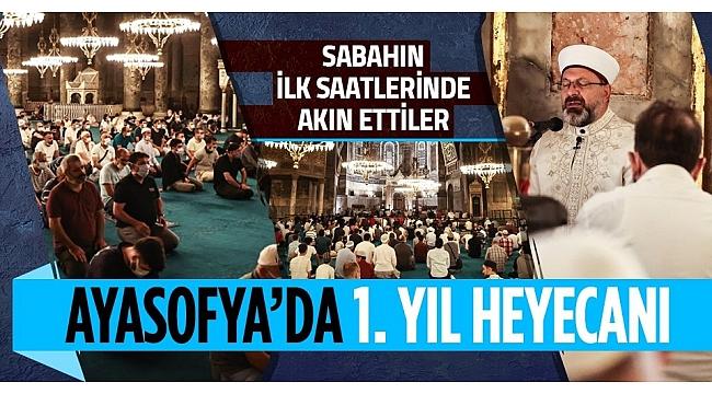 Başkan Erdoğan'dan Ayasofya Camii paylaşımı: Ezanların, salavatların, hatmi şeriflerin sesleri kıyamete kadar eksik olmayacak