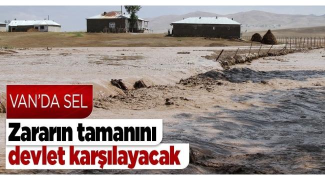Son dakika | Van Başkale'de sel felaketi! Hükümet hemen harekete geçti