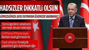 Kritik toplantı sonrası Başkan Erdoğan'dan son dakika açıklamaları!